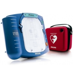 AED HeartStart model HS1 w torbie transportowej